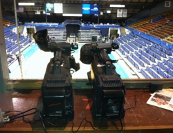 Two identical cameras