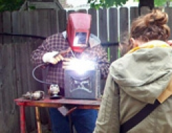 Creating a new anvil for Anvil Shooting competition.